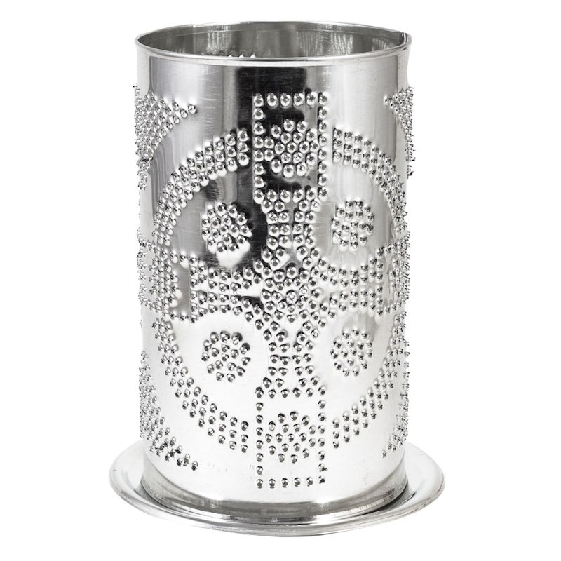 tin candle shade - celtic cross